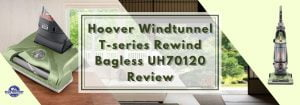 Hoover Windtunnel T-series Rewind Bagless UH70120